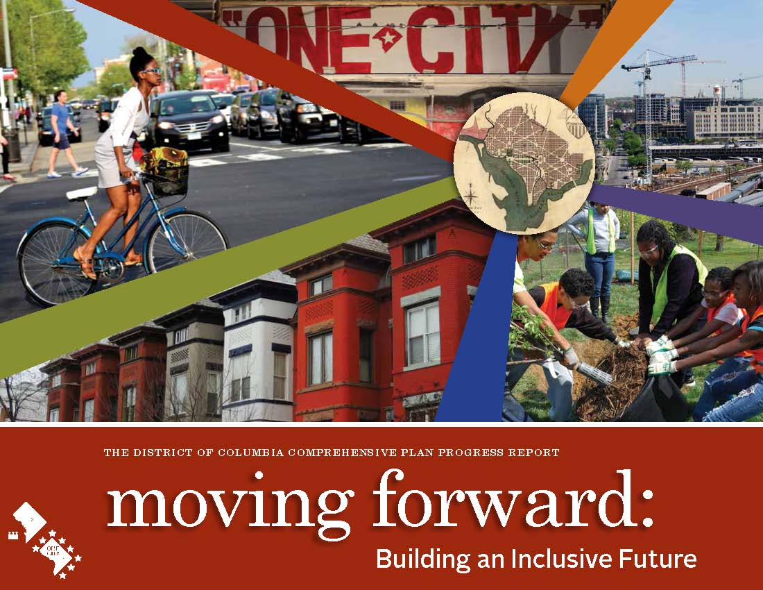 Front Cover of the DC Comp Plan 2012 Progress Report